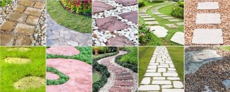 V di vialetti da giardino idee per sentieri - Fontana da giardino fai da te ...