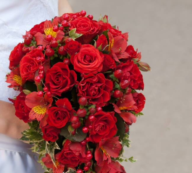 bouquet_sposa_rose_rosso