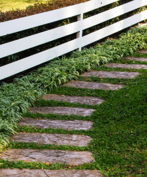 V di vialetti da giardino idee per sentieri for Ciottoli bianchi giardino prezzo