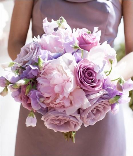 Famoso Bouquet da sposa rose e peonie - rosa-lilla - Un quadrato di giardino LN78